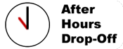 After hours drop off available